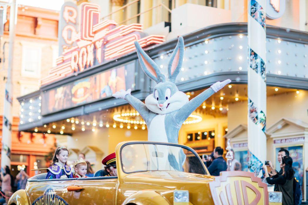 Warner Bros. Movie World Gold Coast theme park