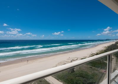 beachfront balcony views