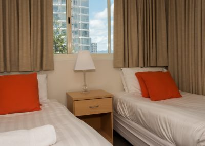 single beds family accommodation gold coast