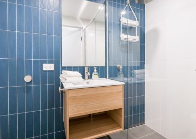 self contained apartment bathroom