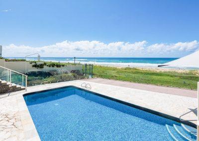 pool on the beach