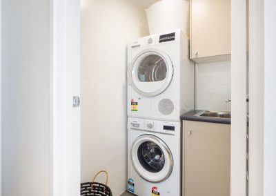 laundry in holiday apartment