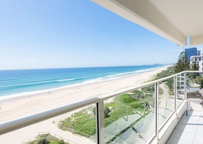 Viscount on the Beach apartment ocean view from private balcony